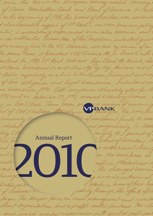 Annual Report 2010 - VP Bank Group