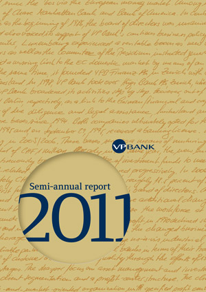 Semi-annual Report 2011